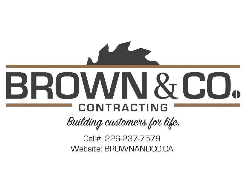 3rd Base Sponsor   Brown & CO Contracting